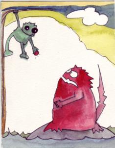 Die Waldgeister Buchis und Gennix
