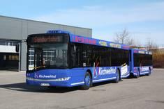 Bus-Zug im Landkreis Ostallgäu