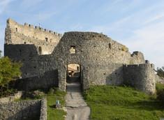 Die Burgruine Eisenberg
