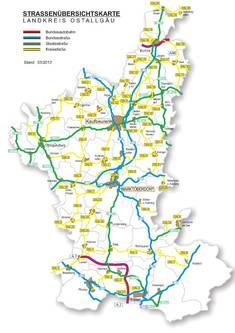 Straßen im Ostallgäu
