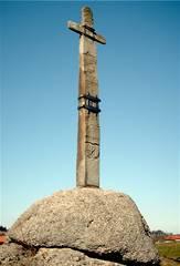 Das Steinkreuz bei Roßhaupten