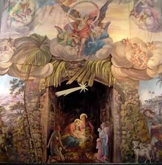Kirchenkrippe von Franz Seelos
